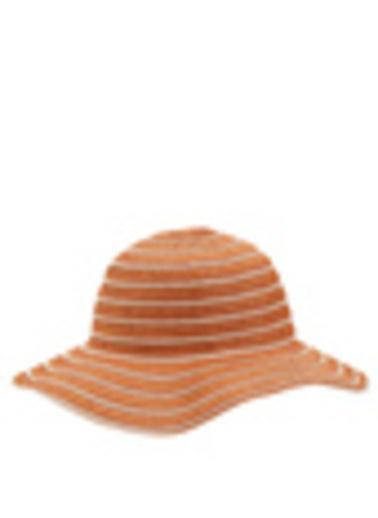 DeFacto Hasır Şapka Oranj